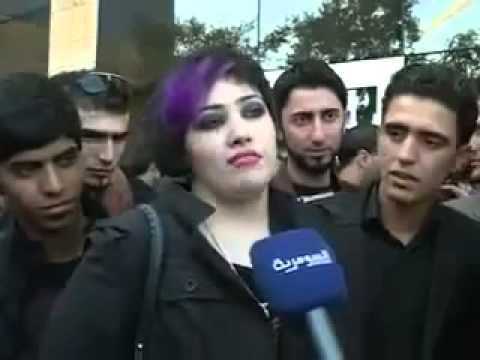 شاهدو فضيحة العراقية رغد من بغداد مشاركة في عرب ايدول2
