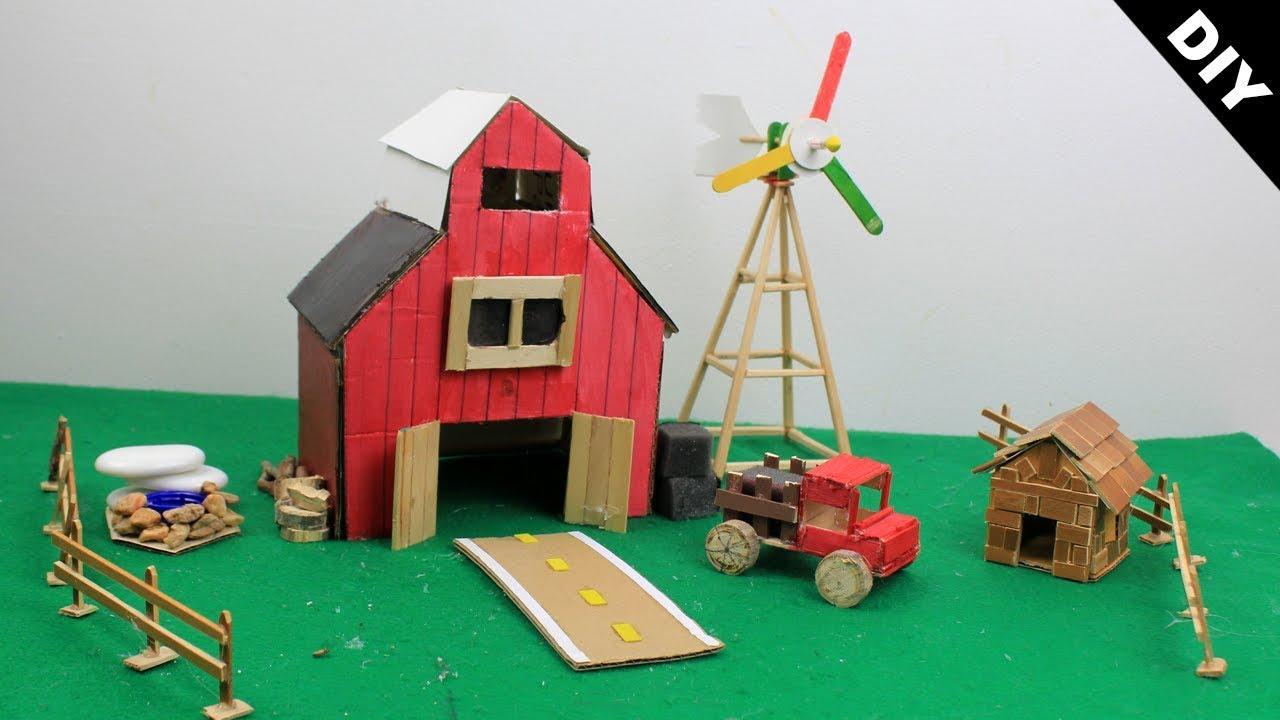 DIY Fairy Garden #24 - Miniature Farm House