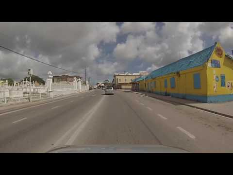 Willemstad, Curaçao - Driving around Willemstad HD (2016)