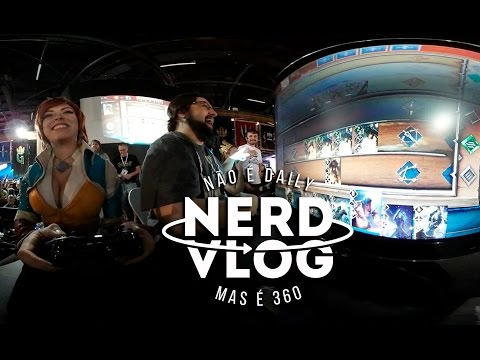 Desafios na BGS 2016 | NerdVlog360 [4K] Ep. 21
