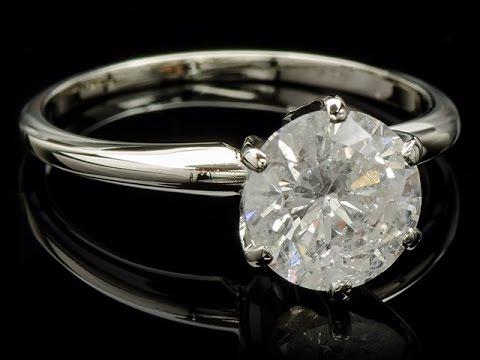 Бижутерия из Китая: серебряное кольцо с большим камнем - YouTube