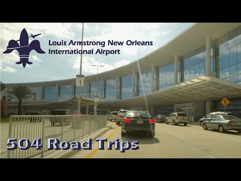 The New Louis Armstrong International Airport Terminal (MSY) - New Orleans