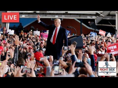 LIVE: President Donald J. Trump Rally in Murphysboro, IL 10-27-18