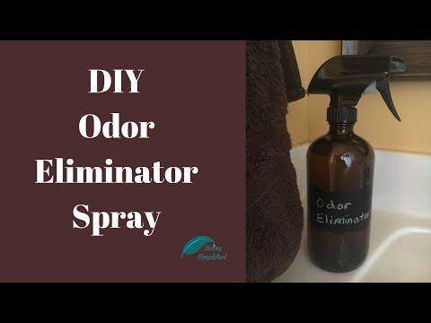 DIY Odor Eliminator Spray