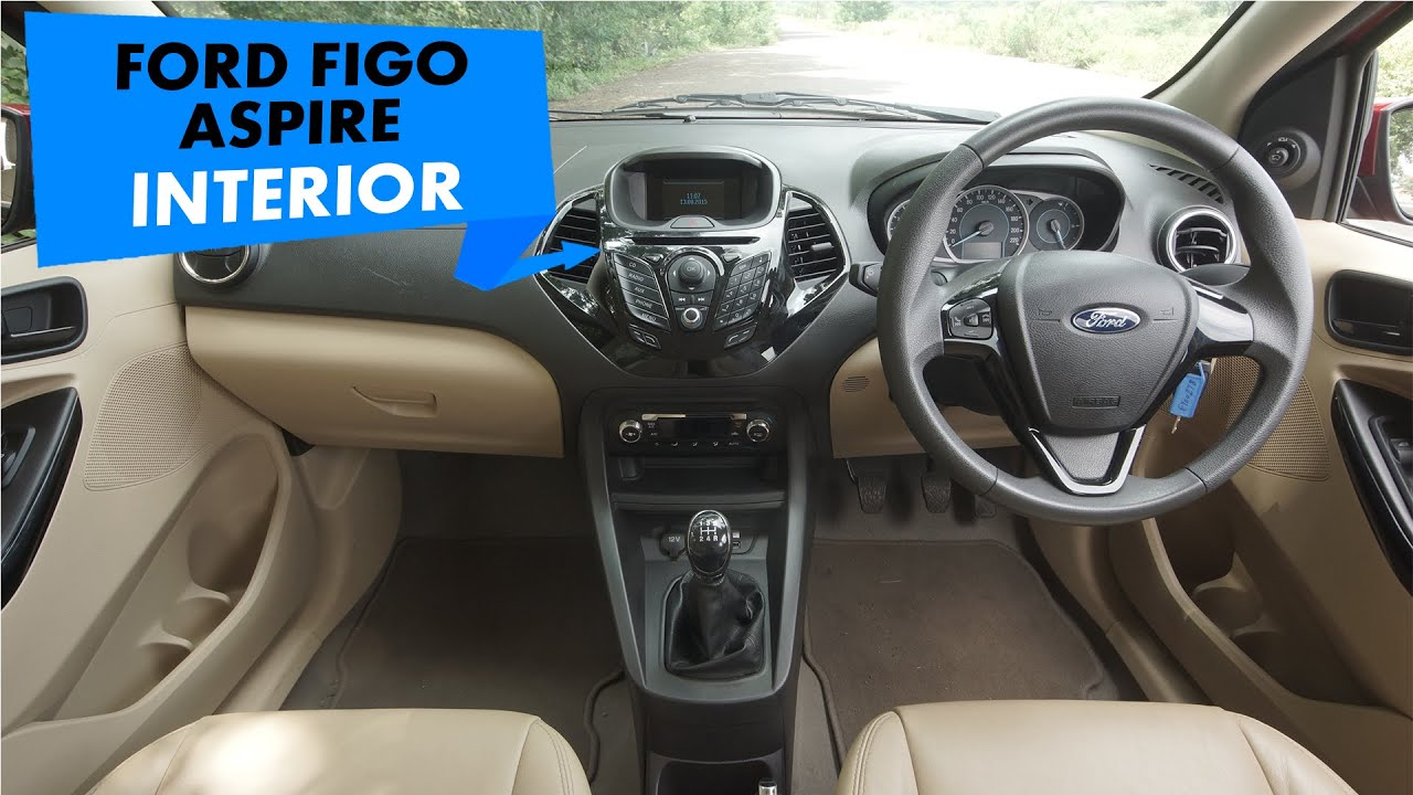 Ford Figo Aspire Interior PowerDrift