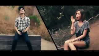 """Just Give Me A Reason"" Pink ft. Nate Ruess Kylee & Sam Tsui Cover"