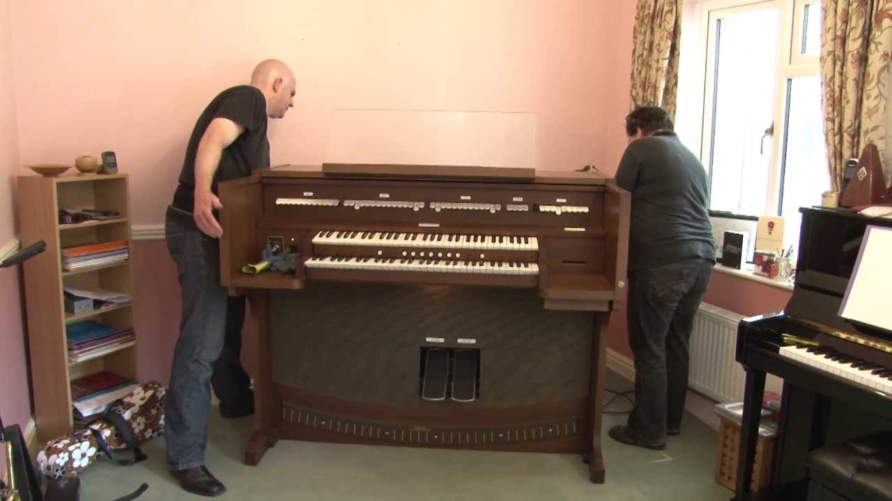 My new Allen ADC-1140 Organ is delivered