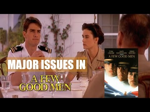 Criminal Law - Murder Crimes In  A Few Good Men (A Review)
