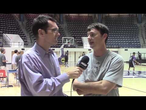 ACU Men's Basketball Interviews: Joe Golding - YouTube