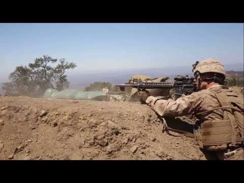2/5 Marines Conduct Live Fire Exercise 2013