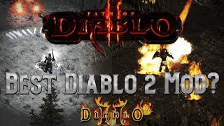 Is this the greatest Diablo 2 Mod Ever? Path of Diablo -  Initial thoughts and review !!