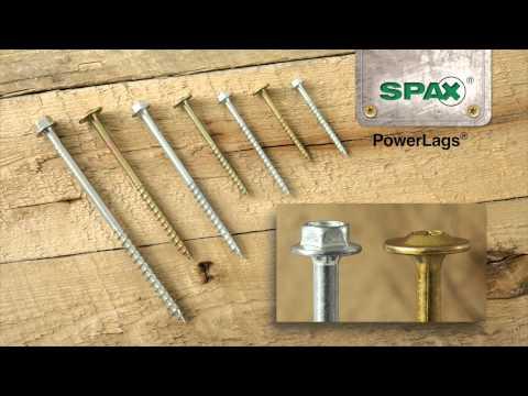 SPAX PowerLag® Applications