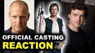 Woody Harrelson cast in Han Solo Movie 2018
