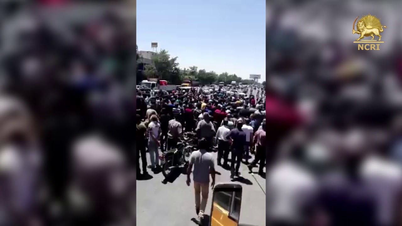 IRAN: Strike, Protest in Isfahan