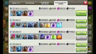 Clash of Clans/Uso y manejo de globos y sabueso/Th9