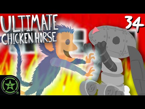 We Get Busted By Ghosts – Ultimate Chicken Horse (#34)
