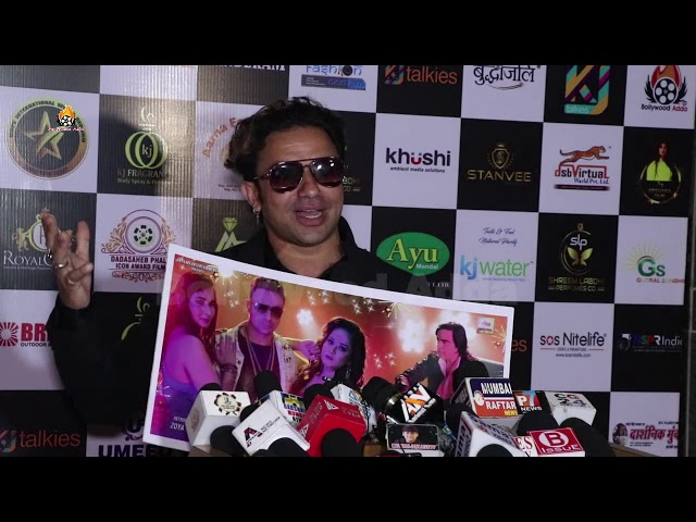 Kamal Tahir Khan Promoting His Album At 7th DARSHNIK MUMBAI PRESS MEDIA AWARD 2021