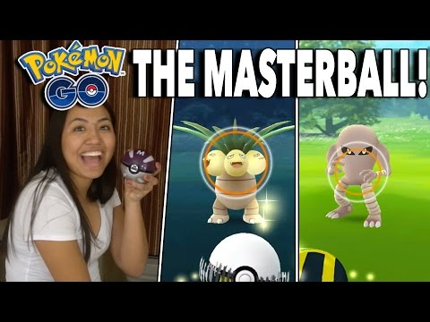 THE REAL MASTERBALL! Catching Exeggutor, Rhydon & More! Pokemon GO Best Rare Catches!
