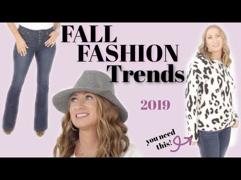 3 MUST HAVE Fall Trends for 2019 Over 40