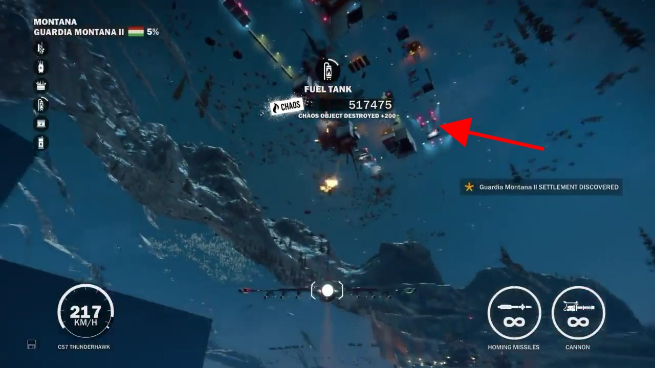 Just Cause 3 Under The Map Entrance Youtube