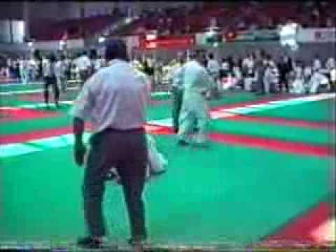 Afrim Latifi World Cup Champion  vs Stefan Mueller und finale in team kobe osaka world cup 2002.wmv