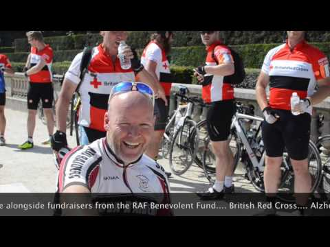 Global Adventure Challenges: London to Paris Bike Ride 2016