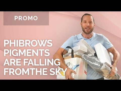 Phibrows Pigments Are Falling From The Sky At MicrobladingStoreUSA.com
