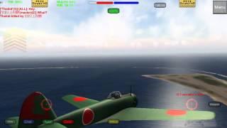 一式戦闘機 隼たった1機で敵にあたった。結果。Wings of duty https://e...