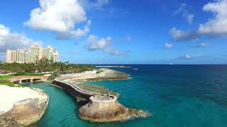 Paradise Island beaches of Atlantis Bahamas