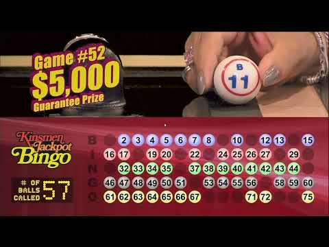 Kinsmen Bingo Winnipeg