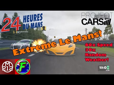 Extreme Le Mans Challenge! Anything Can Happen At Le Mans w/Xfitcho (Project Cars)