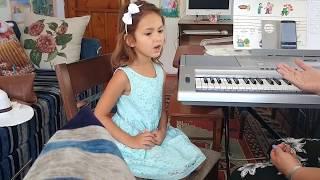 Elif Resim müzik dersinde , Eğlenceli çocuk videosu