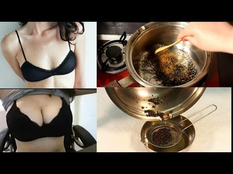 Home Remedy for Breast Enlargement & Tighten Saggy Breasts