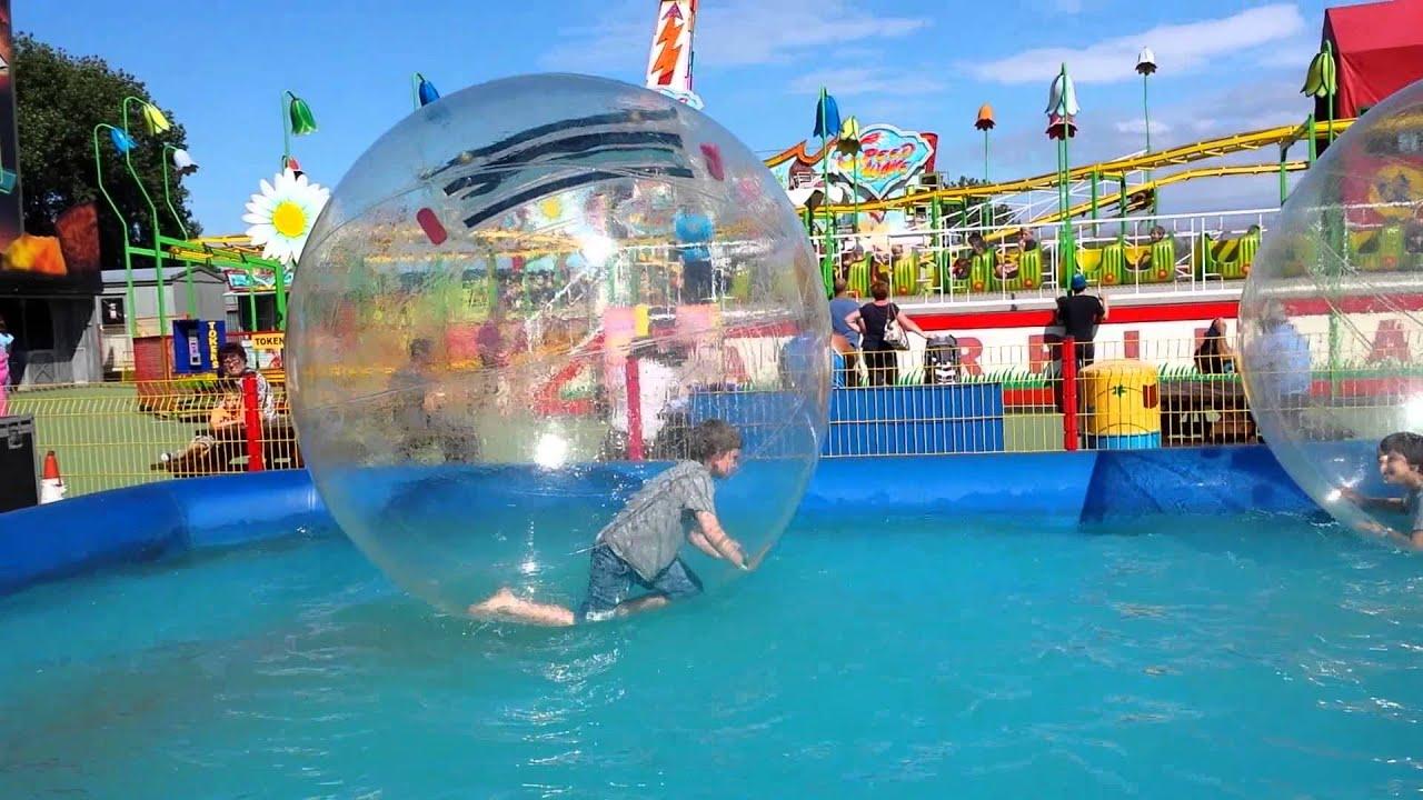 Brean Leisure Park Water Bubble Trouble Youtube