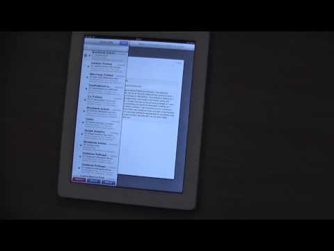 How to delete messages on my apple ipad