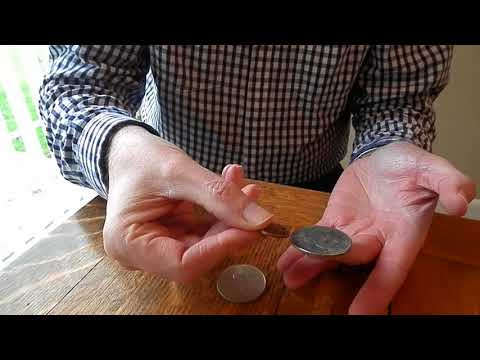 Fake Silver Dollar Versus Real Silver Dollar: Live Ping Test