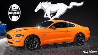 2020 Mustang EcoBoost High Performance - 2019 NYIAS