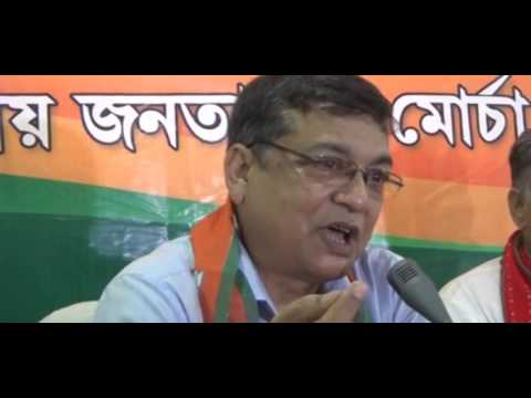 "B.J.P. te Joining Karlo Dr. Ashok Sinha ""NEWS VANGUARD"" Telecast News 26/4/2017"