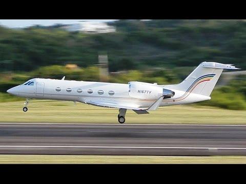 Private/Business Jet Rush!! Pre Boxing Day Spotting in Antigua!!
