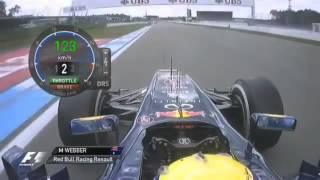 Формула 1 (F1). Германия 2012. Вид от первого лица.
