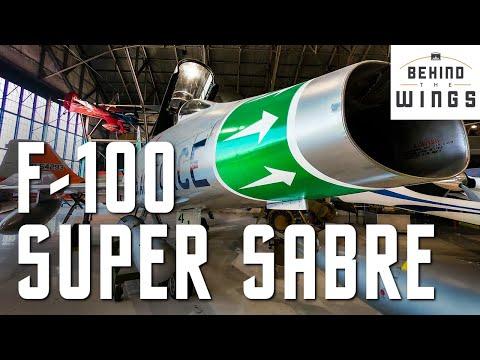 F-100 Super Sabre   Behind the Wings