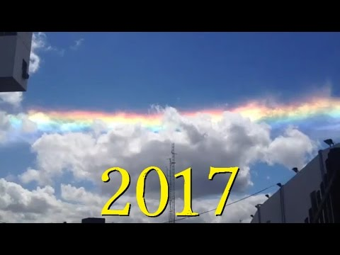 """Phenomenon """"Fire Rainbow"""" Appears in the Sky above Paraguay March 2017"""