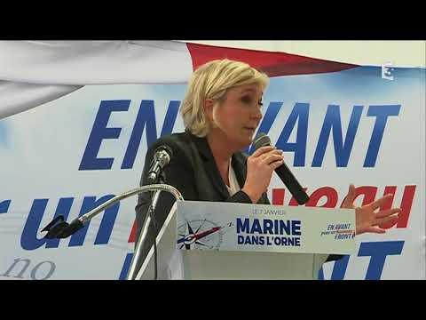 Marine Le Pen dans l'Orne