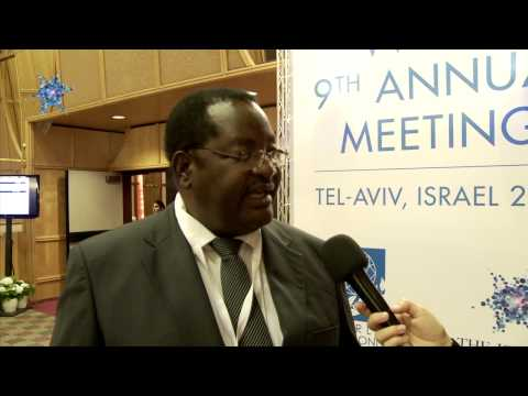 Zimbabwean Minister of Mines At World Diamond Council Annual Meeting