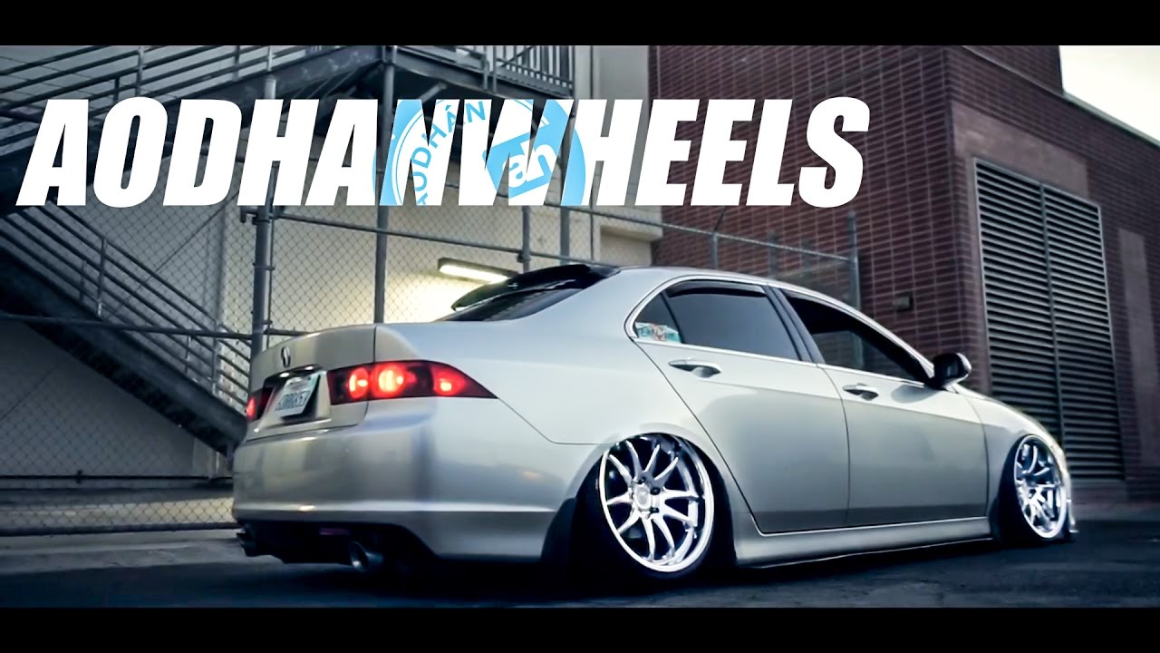 Acura Tl Wheels >> AODHAN DS02 | BAGGED TSX - YouTube