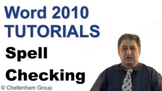 Word 2010 Tutorial | Spell Checking & Printing | Full Course