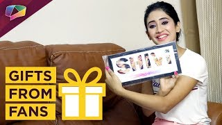 Shivangi Joshi Receives Birthday Gifts From Her Fans | Yeh Rishta Kya Kehlata Hai