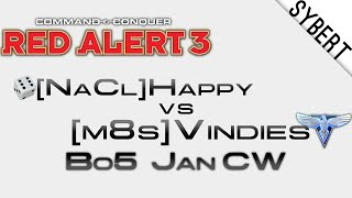 [NaCl]Happy vs [m8s]Vindies - Jan Clan Wars - Red Alert 3