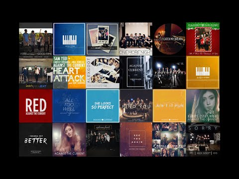 Against The Current  All s 2014  2016