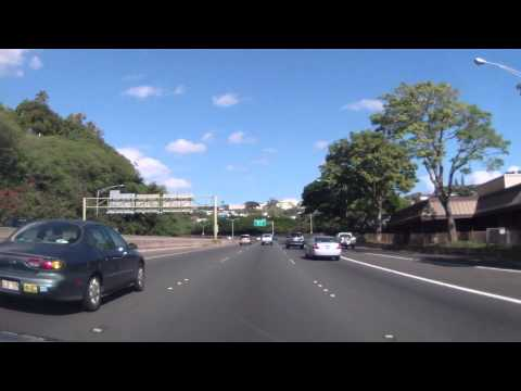 Driving in around Oahu (Hawaii) Part 1 of 5